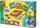 SES Creative 14415 - Meine Ersten Fingerfarbenkarten My First