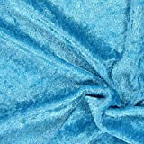Fabulous Fabrics Pannesamt türkis – Weicher SAMT Stoff