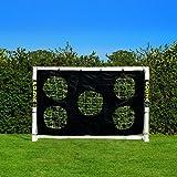 Torwand für Fußballtore – Zielschussplane 3x2m - 4