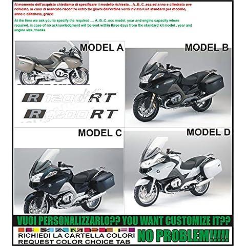 Kit adesivi decal stikers bmw r1200 rt (possibilità di personalizzare i colori)