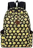 Greeniris Kids Cute Emoji School Backpack Girl/Boy Rucksack