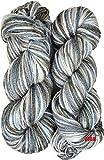 #8: M.G Enterprise Grey Mix 200 Gm Wool Ball Hand Knitting Wool / Art Craft Soft Fingering Crochet Hook Yarn, Needle Acrylic Knitting Yarn Thread Dyed