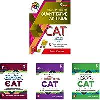 CAT Test Prep Series by Arun Sharma (Set of 4 books)