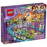 Lego 41130 Friends Großer Freizeitpark, Spielzeug für Jungen und Mädchen