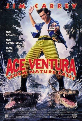 ACE Ventura: When Nature Calls poster del film (27,9x 43,2cm-28cm x 44cm) (1995) by Poster Da Parete Decorativa