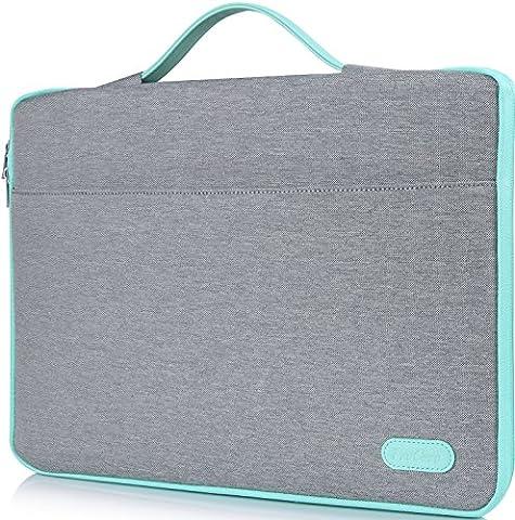 ProCase 12 - 12.9 Zoll Hülsenhülle für Surface Pro 4 3 2, Macbook / iPad Pro Tablet, Tragbare Tragetasche mit Griff für 11 11.6 12 Zoll Chromebook Ultrabook Notebook Laptop(Hellgrau)