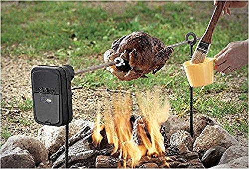 Der Grizzly Spieß Grillspieß : zur Verwendung für Lagerfeuer oder Feuerstellen -