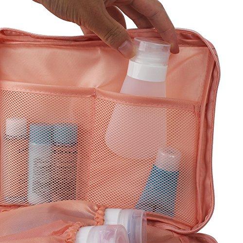 Tophie Cosmetico Bag Borse Viaggio Organizzatori Imballaggio Cubi di Viaggio,Impermeabile Custodia da Viaggio Wash Bag per Accessori Bagno e Trucco, Kit Rasura e Liquidi 7#