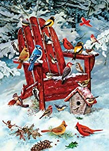 Cobblehill 70031 JackPine 1000 Adirondack Birds Puzzle