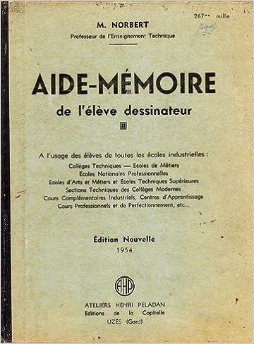 Telechargements De Livres Pda Aide Memoire De L Eleve Dessinateur