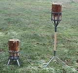 Baumfackelständer, Multifunktionsständer für Baumfackeln, Schwedenfeuer Halter
