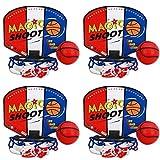 4 X Basketball Spiel ca. 13 x 11 cm Büro-Game kleiner Korb