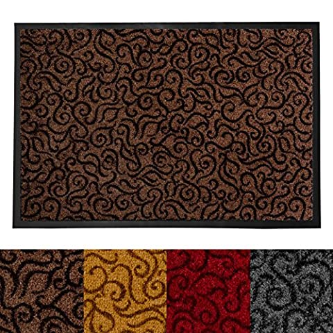 Tapis Conforama Rouge - Tapis d'entrée absorbant etm® anti salissure |