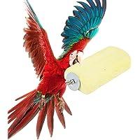 Zwindy Pierre de meulage de 5,5 Pouces, Pierre de meulage de Hamster, Perruche Non Toxique pour Oiseau Cockatiel