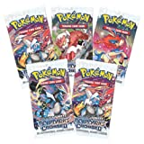 Toyshine Pokemon Trading Card Game- 5 Pa...
