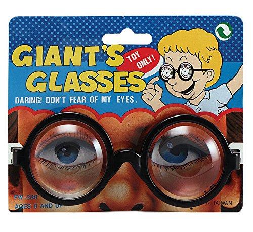Stinkyface Dick-Nerd Brille mit (iPhone, Kinder-Kostüm