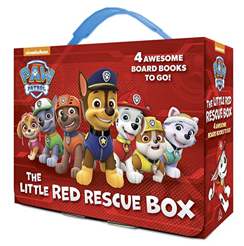 The Little Red Rescue Box (Paw Patrol) por Random House