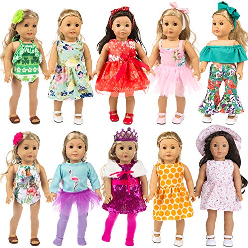 ZITA ELEMENT 24 PCS 18 Inch Doll...