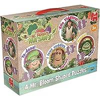 Jumbo Games Mr. Bloom's Nursery 4-in-1 Shaped Jigsaw Puzzles