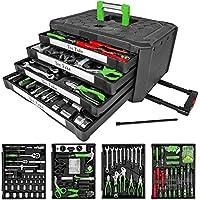 TecTake Boîte de 300 outils avec 4 tiroirs