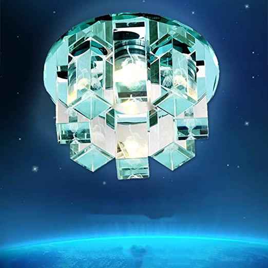 GAODUZI LED-Deckenleuchte Kristall Flur leuchtet Korridor ...