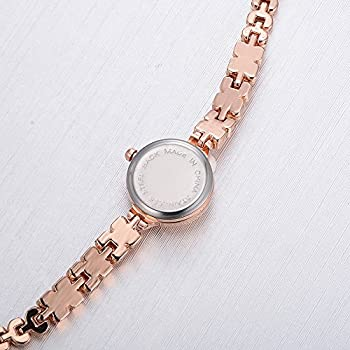 Womens Quartz Watches,ulanda-eu Lvpai Analog Clearance Lady Wrist Watch Female Watches On Sale Watches For Women,round Dial Case Comfortable Stainless Steel Wristwatch M77 (Gold & Black) 5