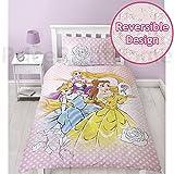 Disney Princess Magic singolo copripiumino e federa set
