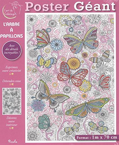 L'arbre  papillons : Poster gant