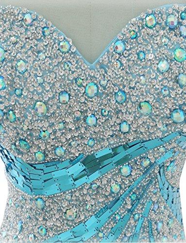 Izanoy -  Vestito  - Senza maniche  - Donna Blau