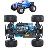 1/10 Petrol 4WD RC Scale Buggy Car, with 75Cc Fuel Tank, Self-Cooling Engine, Absorption Hydraulic Shock, Simulation Model fo