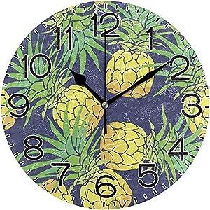ALLdelete# Wall Clock Piña Frutas
