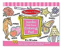 Melissa & Doug Jumbo Colouring Pad - Pink