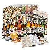 Biergeschenk Box (12 Bier-Spezialitäten) im Geschenkkorb für Männer - Geburtstagsgeschenk zum 60 Geburtstag, originelle Hochzeitsgeschenke