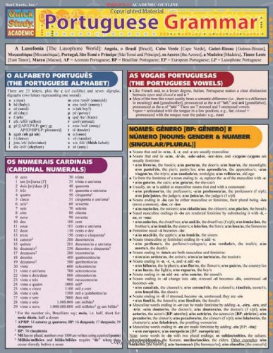 Portuguese Grammar (Quickstudy: Academic) por Joseph Levi