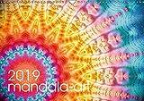 mandala-art (Wandkalender 2019 DIN A3 quer): 12 farbenfrohe Energie-Mandalas für das Jahr (Monatskalender, 14 Seiten ) (CALVENDO Kunst)