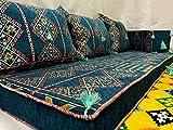 Orient Orientalische Sitzecke,Bodenkissen,Orientalische Sitzgruppe, Sitzecke,Yogakissen,Orientalisches Sofa,Sitzkissen Serie BIDWIN2018