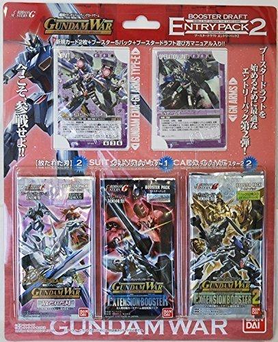 Gundam War Booster Draft Entry Pack 2 (japan import) - Draft-booster