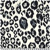 alfa HOME Designerstoff, Animal-Print,