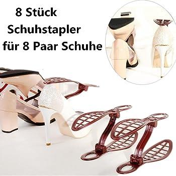 huichang Verstellbarer SchuhstaplerSchuhhalter 8 Stück