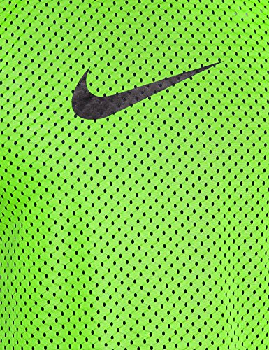 Nike, Smanicato Uomo Team Scrimmage Swoosh Action Grün/Schwarz