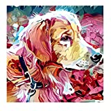 Dream-cool Puppy Painting, 5D Embroidery Diamond Rubik'S Cube Painting Kitten for Decor Safety gorgeously transferable Well-Suited