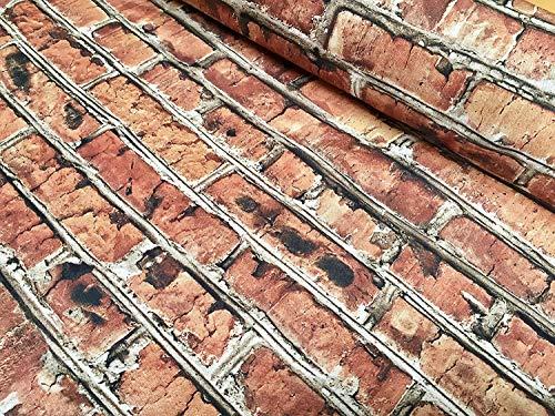 Plattform Separat Erhältlich (LushFabric Brick Wand-Effekt-Baumwollstoff - rote Ziegelsteine, Wanddruck, Stoff - Harry Potter 9 3/4 Plattform, Vorhänge, Polster, Hintergrund, Heimdekoration, 140 cm breit, 2 m)