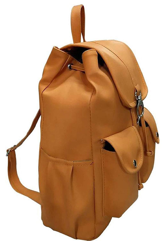 Redlicchi Women s PU Casual Purse Fashion School Leather Backpack ... 76d87ae906145