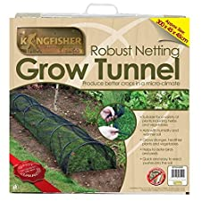 Kingfisher Net Tunnel – Garden Netting Cloche – Grow Tunnel Plant Cover