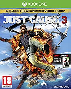 just cause 3 day1 edition 3 dlcs eu import xbox one. Black Bedroom Furniture Sets. Home Design Ideas
