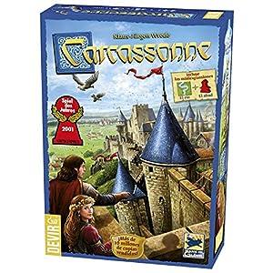 juegos de estrategia: Devir - Carcassonne, Juego de Mesa (versión en Castellano)