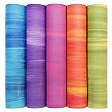 Die besten Dickes Yoga-Matten - Yogamatte GANGES mit OEKO-TEX, Allround-Matte für Yoga, Gymnastik Bewertungen