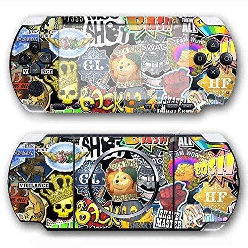 Skin Sticker - Bomb Vinyl Skin Sticker Protector for Sony PSP 3000 Skins Sticker for PSP3009 for PS4 Slim Skin, PS4 Pro Skin, PS4 Skin Sticker A776