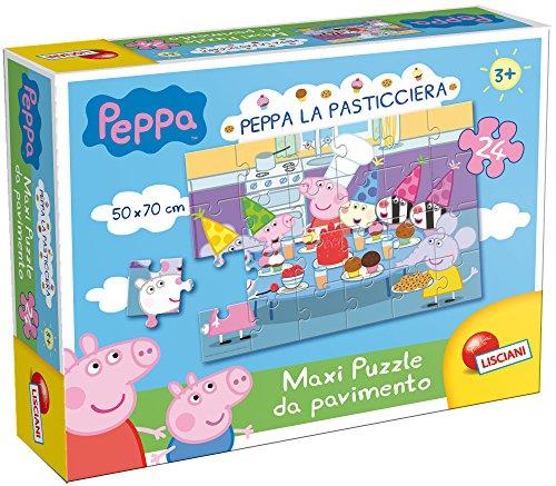 lisciani-45730-puzzle-da-pavimento-24-peppa-pasticciera