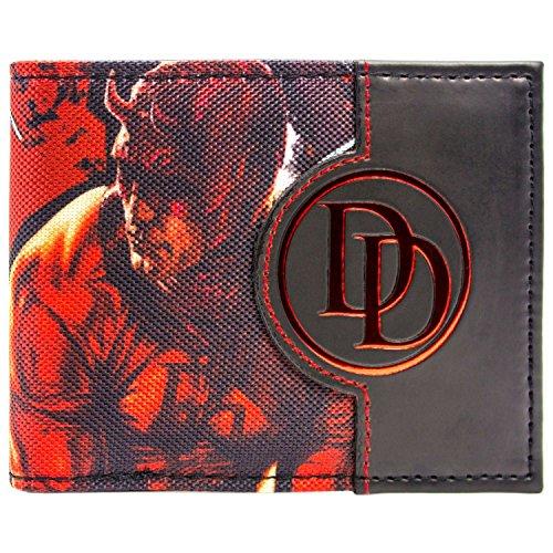 Marvel DareDevil Charakter Rot Portemonnaie Geldbörse (Elektra Film Kostüme)